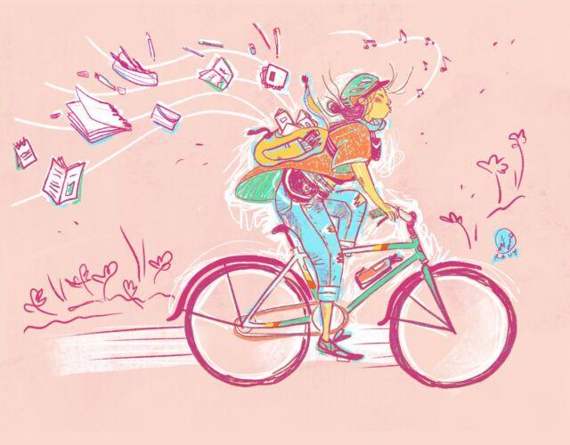 selfportrait_bike- ravy