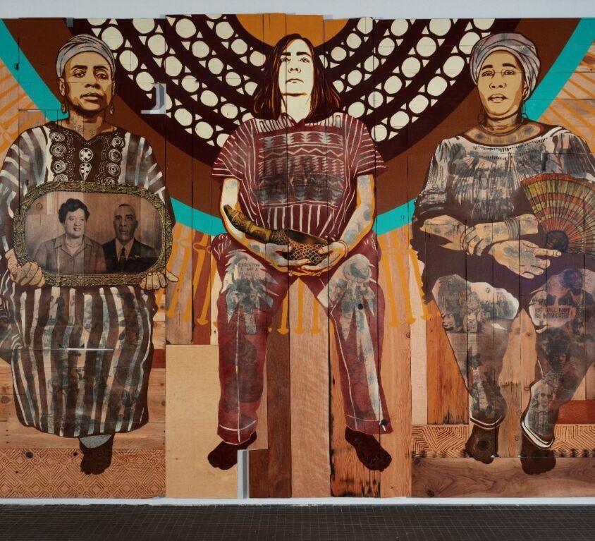 La peinture comme vecteur de la conscience diasporique