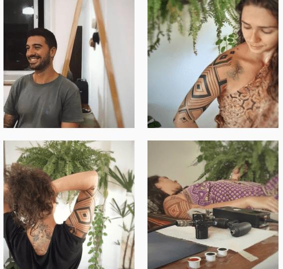 Tatouage, inspiration indigène