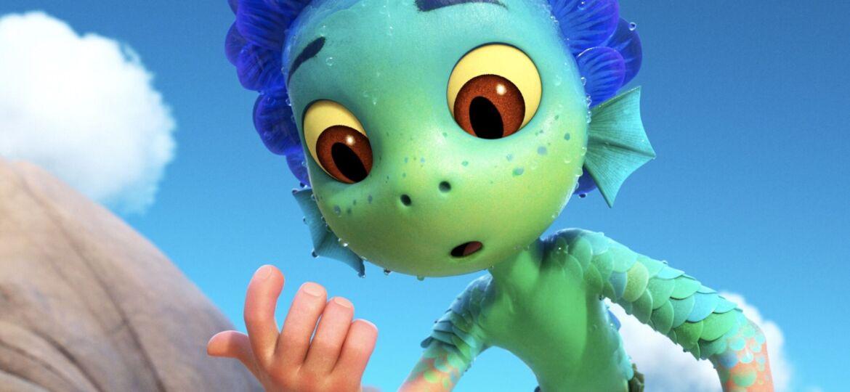 Luca se transforme en monstre marin